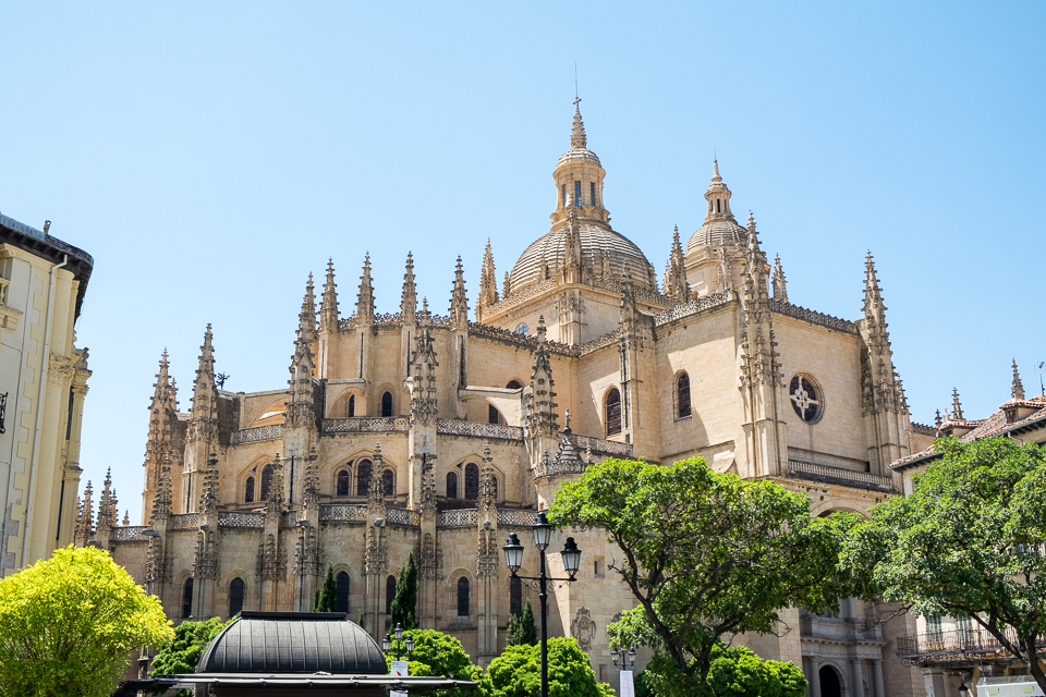 The Cathedral of Segovia (we elected not to tour this one)