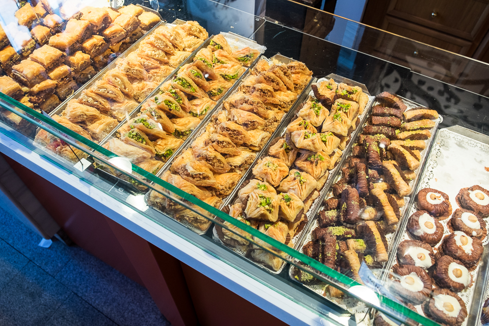 Pastries at the market