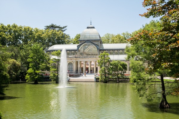 Crystal Palace within Retiro Park